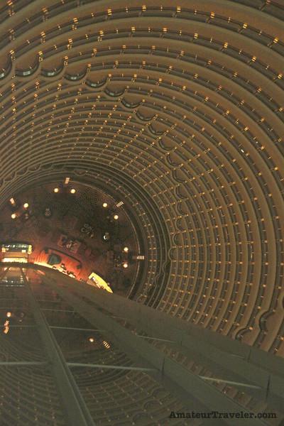 Jin Mao Tower interior