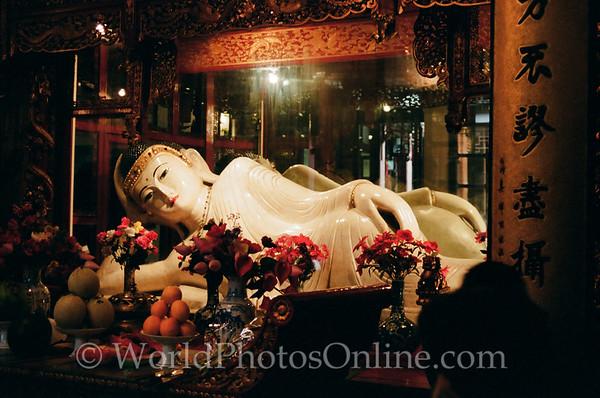 Shanghai - Jade Buddha Temple - Reclining Buddha