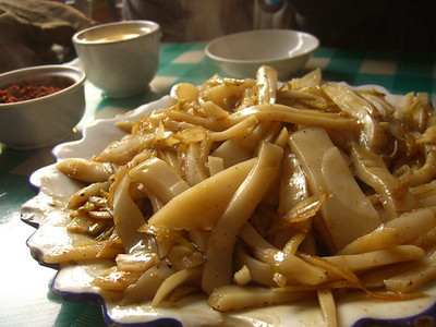Scissored Wheat Noodles - Pingyao, China