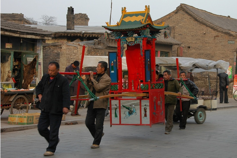 Funeral Procession - Pingyao, China