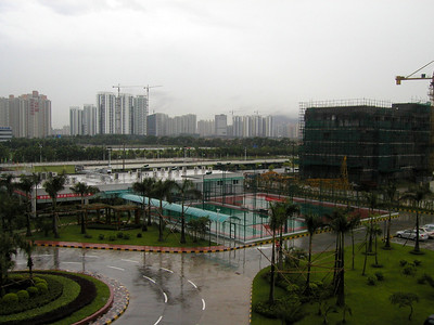 Szhenzhen (2004) construction viewed from ZTE Offices