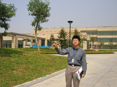 Huawei engineer and new headquarters campus; Industrial Base Bantian Longgang, Shenzhen, taken in 2002.