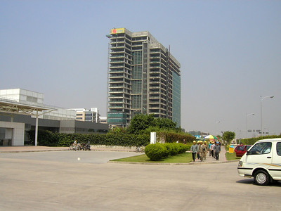 Huawei , part of their new headquarters campus; Industrial Base Bantian Longgang, Shenzhen, taken in 2002.