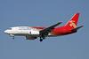 B-5025 Boeing 737-7BX c/n 30741 Xi'an/ZLXY/XIY 11-11-12