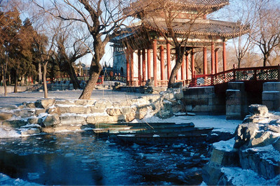 Beijing, Summer Palace in Winter 1997