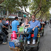 "Pedicab (""Rickshaw"") ride"