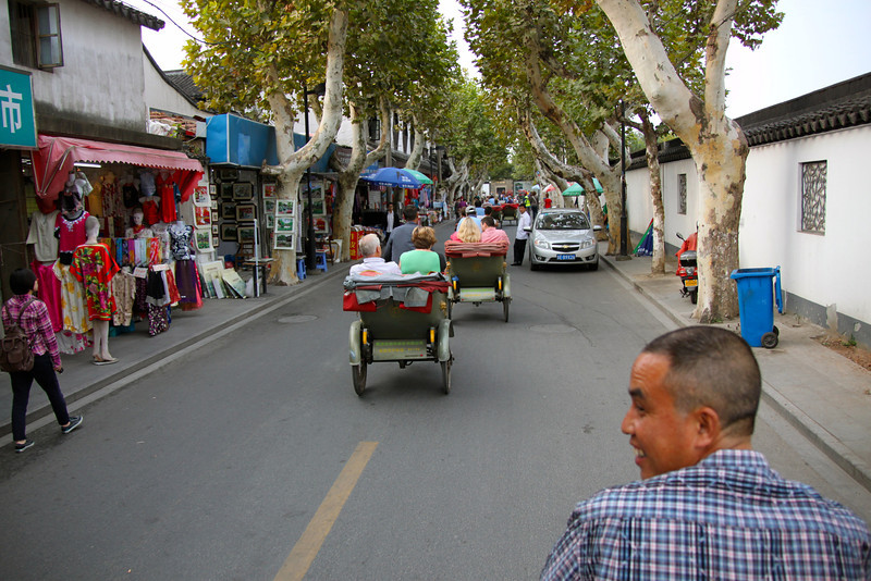 """Pedicab (""""Rickshaw"""") ride"""