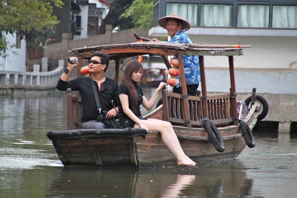 A Gondola Ride in China - Xi'an, China - Photo