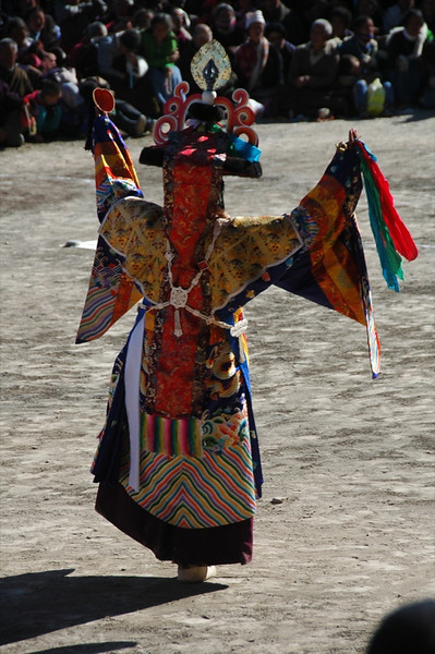Tibetan Opera Actor - Xiahe, China
