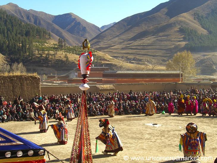 Tibetan Opera - Xiahe, China