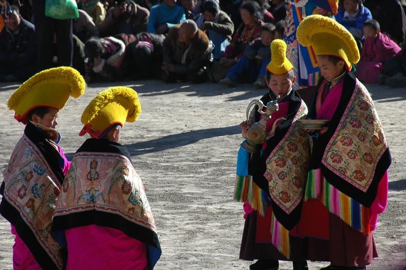 Tibetan Monk Novices - Xiahe, China