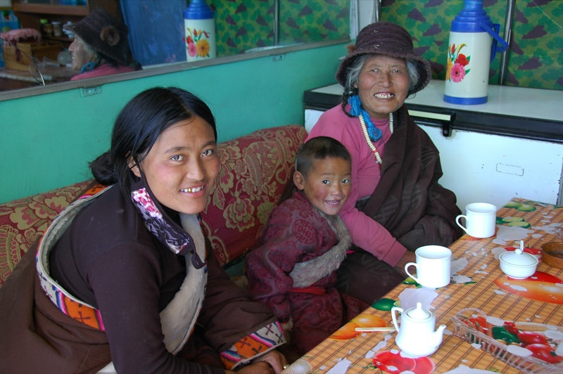 Breakfast Tea - Xiahe, China