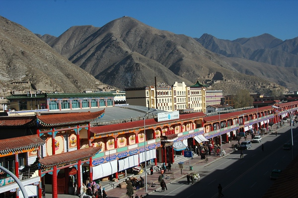 Xiahe Main Street - China