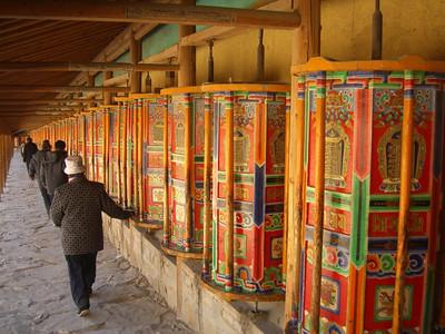 Tibetan Pilgrims - Xiahe, China