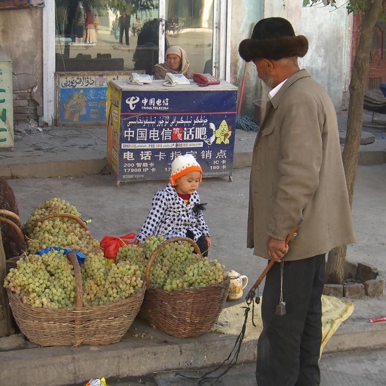 Young Vendor - Kashgar, China