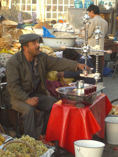 Pomegranate Juice Vendor - Kashgar, China