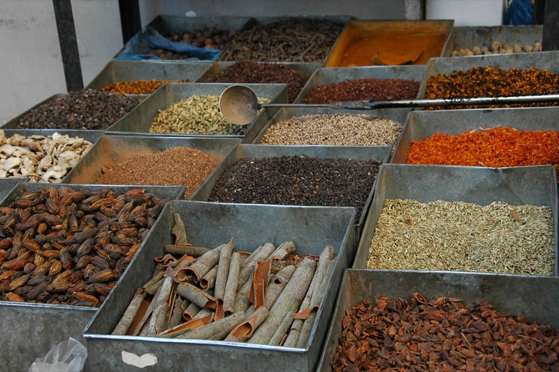 Spice Stand in Old Kashgar, China