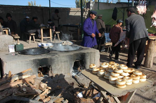 Xinjiang Food: Girde Nan - Kashgar, China