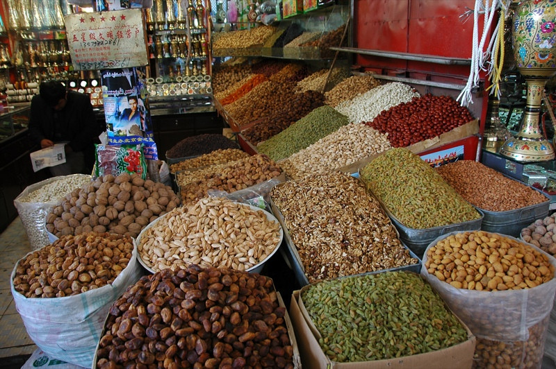 Dried Fruits and Nuts - Kashgar, China