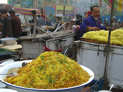 Pile of Nokot - Kashgar, China