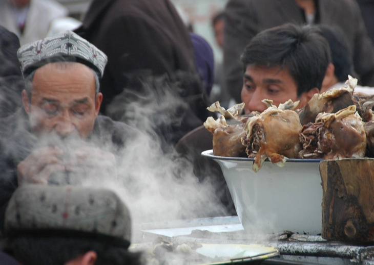 Goat Head Soup - Kashgar, China