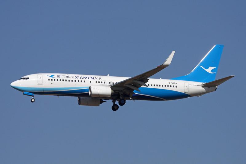 B-5659 Boeing 737-85C c/n 38396 Xi'an/ZLXY/XIY 11-11-12
