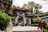 Xiamen - Gulang Island - Entrance to Temple of Guanyin