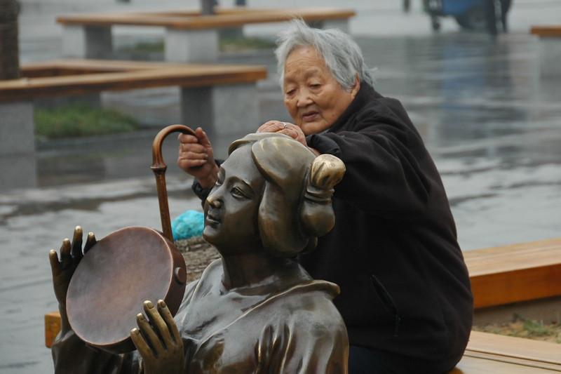 Elderly Chinese Woman - Xi'an, China