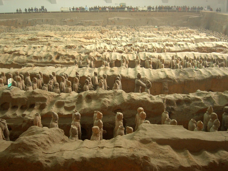 Pit #1 of the Terra Cotta Warriors - Xi'an, China