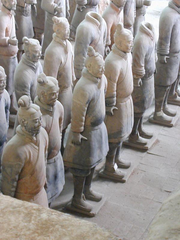 Qin Terra Cotta Warriors, Pit 1, Xian
