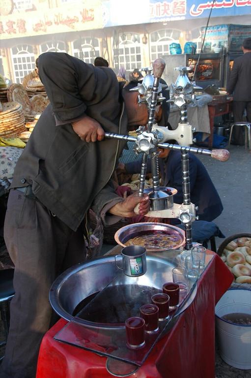 Fresh Pomegranate Juice - Kashgar, China