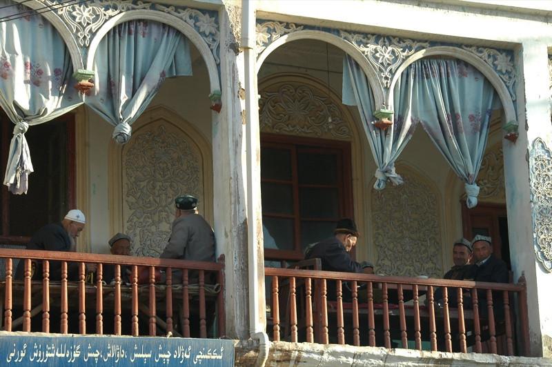 Uighur Tea House - Kashgar, China