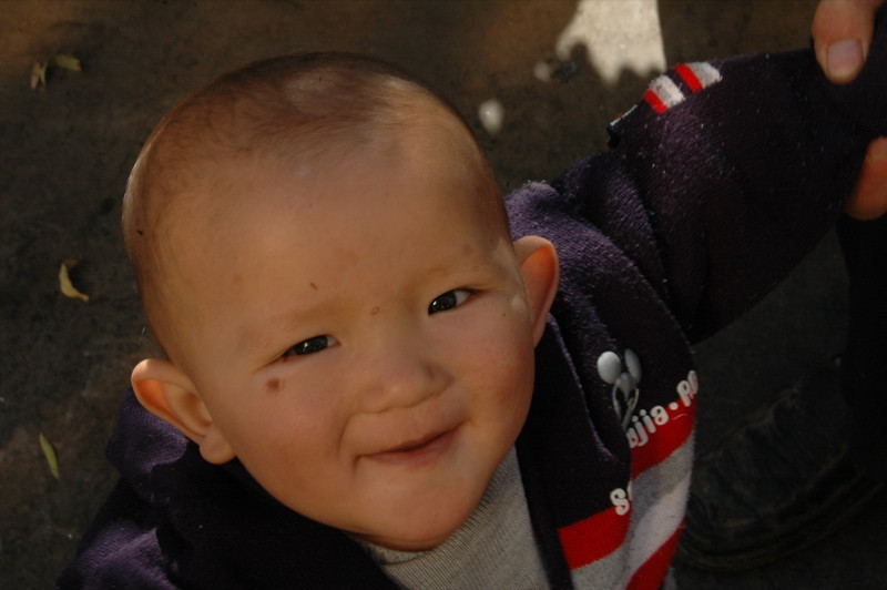 Uighur Smiling Boy - Kashgar, China