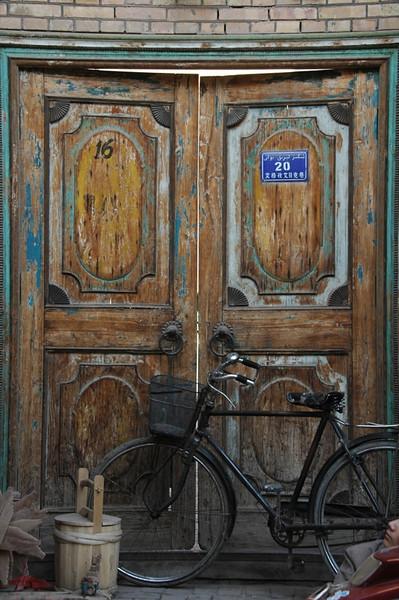 Traditional Kashgar Doorway - China