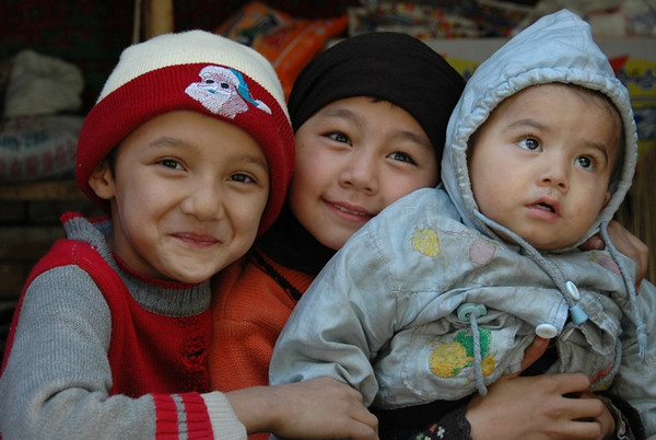 Uighur Kids - Kashgar, China