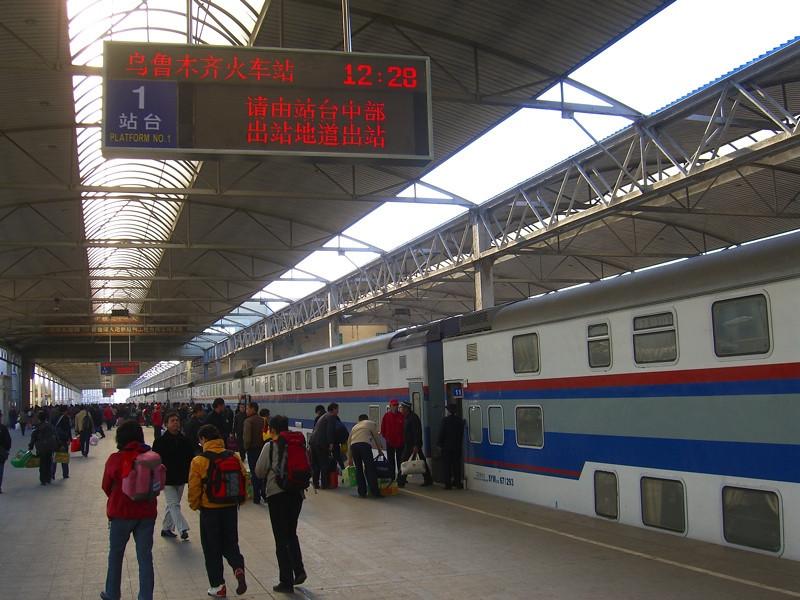 Train in China - Urumqi, China