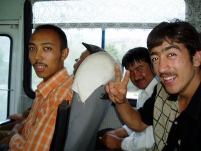 the bus from kashgar to karakul