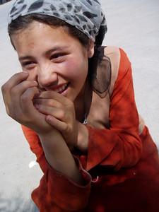 girl, kashgar