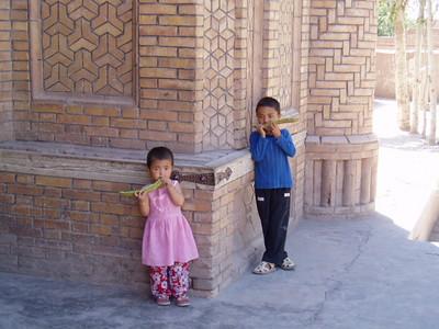 children, kashgar