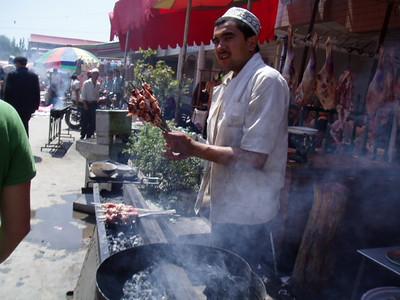 kebabs, kashgar
