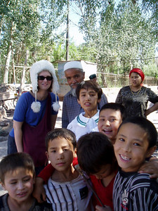 locals, kashgar