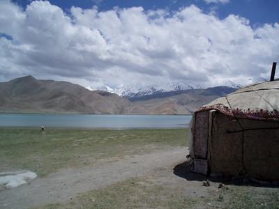 yurt, karakul lake