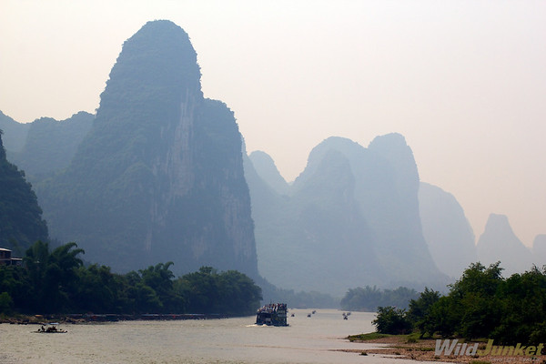 Karst mountains of Li River