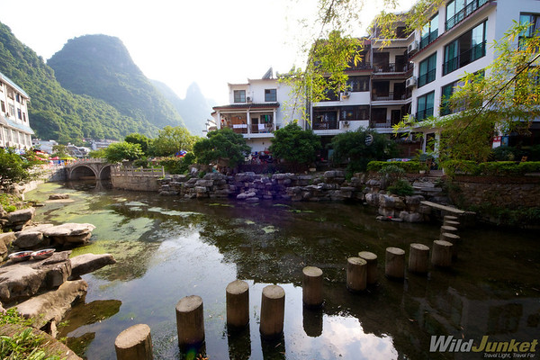 town of Yangshuo