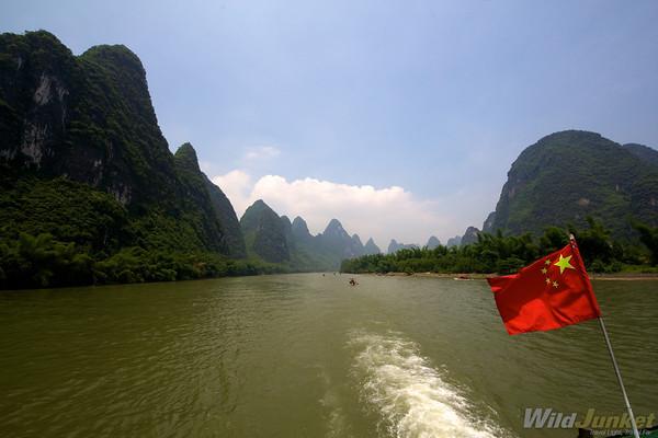 the scenic Li River