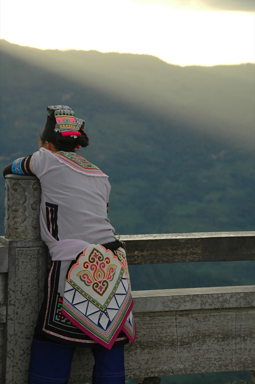 Hani Woman in Xinjie - Yuanyang, China