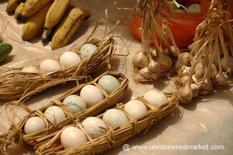 Eggs at Yuanyang Market - China