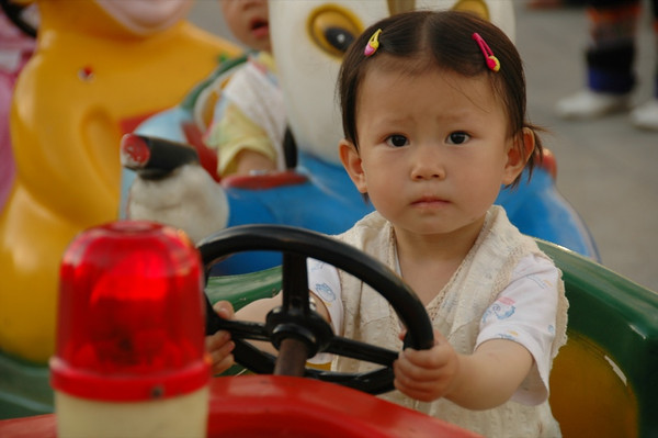 Little Chinese Girl in Yuanyang - Yunnan, China