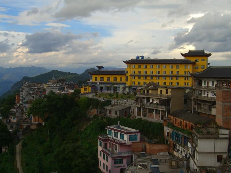 Xinjie Skyline - Yunnan, China