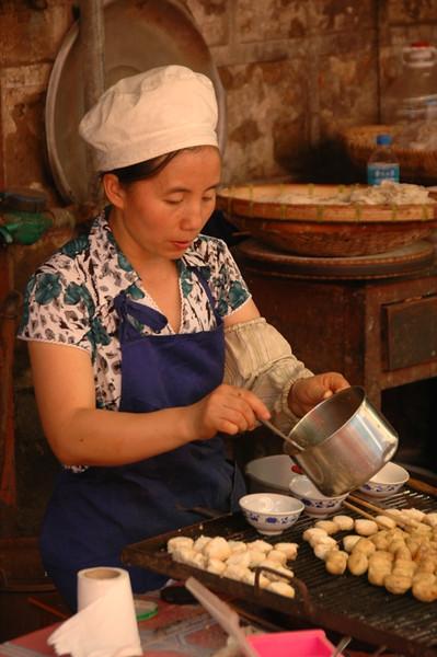 Street Tofu in Yuanyang - Yunnan, China